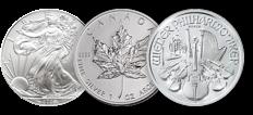Zilveren munten
