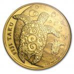 1 troy ounce gouden munt Fiji Taku schildpad
