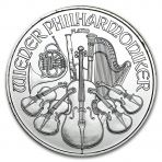 1 troy ounce platina Philharmoniker munt