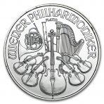 1 troy ounce platina Philharmoniker munt