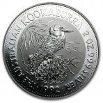 2 troy ounce zilveren munt Kookaburra 1992