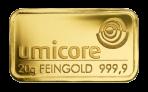 Goud baar 20 gram Umicore