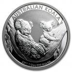 1/2 troy ounce zilveren Koala munt 2011