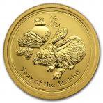 1/4 Troy ounce gouden munt Lunar