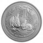 1 Troy ounce zilveren Lunar munt 2011