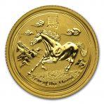 1/10 Troy ounce gouden Lunar munten