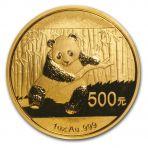 1 Troy ounce gouden Panda munten