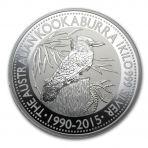 1 Kilo zilveren Kookaburra munten 2015