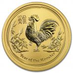 Gouden Lunar munt 1 troy ounce 2017