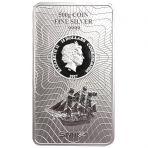 500 gram zilveren Cook Island muntbaar