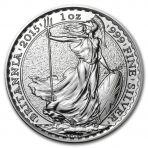 1 troy ounce zilver Britannia munt verkopen