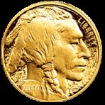 1 troy ounce gouden American Buffalo munt