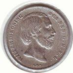 Zilver halve gulden (1857-1919)