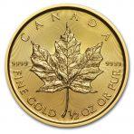 1/2 troy ounce gouden munt Maple Leaf