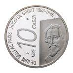Zilveren tientje 1995 Hugo de Groot