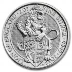 2 Troy ounce zilveren Queens Beasts munten