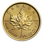 1/10 Troy ounce goud Maple Leaf munt