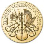 1/10 troy ounce gouden Wiener Philharmoniker munt