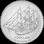 1 kilo Cook Islands zilveren munt