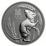 1 Troy ounce platina munt Lunar serie
