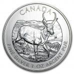 Diverse zilveren munten van Canadese munthuizen