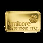 Goud baar 10 gram Umicore