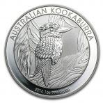1 troy ounce zilveren munten Kookaburra 2014