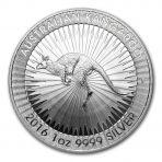 1 Troy ounce zilveren Kangaroo munt