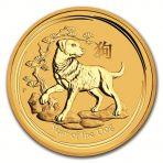 1/2 Troy ounce gouden munt Lunar
