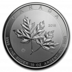 10 Troy ounce zilveren munt Magnificent Maple Leaf