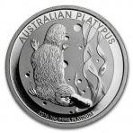 1 troy ounce platina Platypus munt